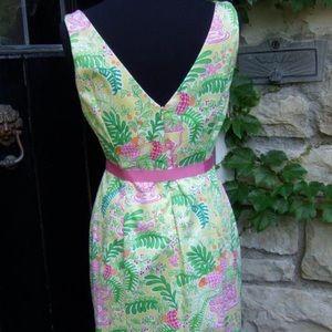 Lily Pulitzer Whimsical Monkey Jungle Print Dress!